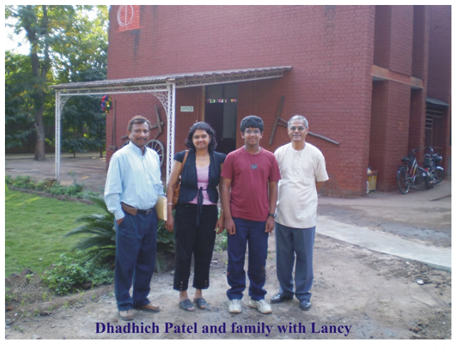 Centre for Culture and Development – Dhadhich Patel and family with
